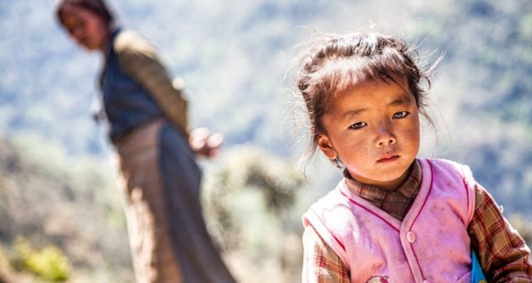 Child from Annapurna Trekking Region