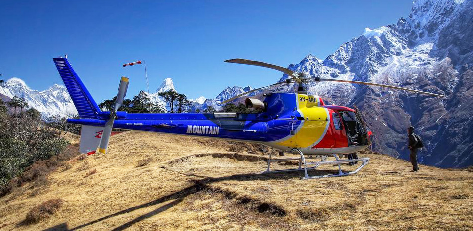 Everest Helicopter Tour  Encounter Everest By Helicopter Tour