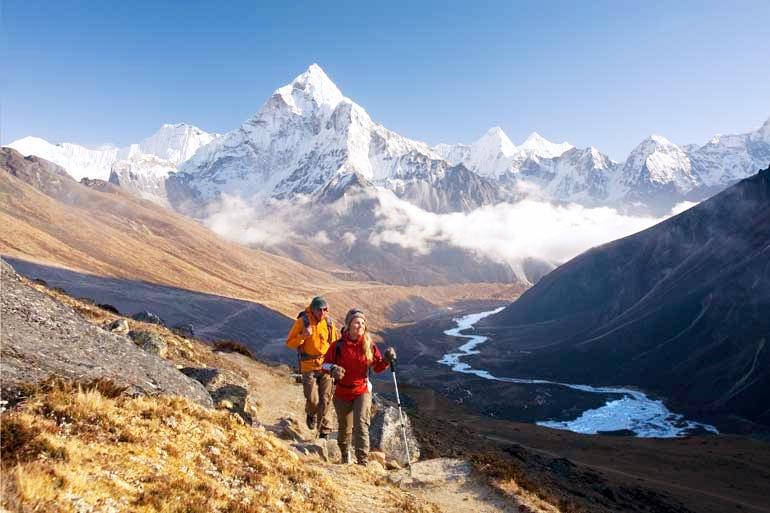 Himalaya trekking