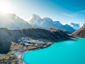 Everest Gokyo Lake Trekking, Gokyo lake