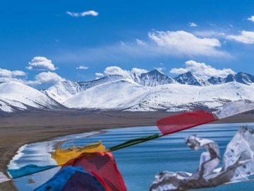 Tibet With Nam Tsho Lake