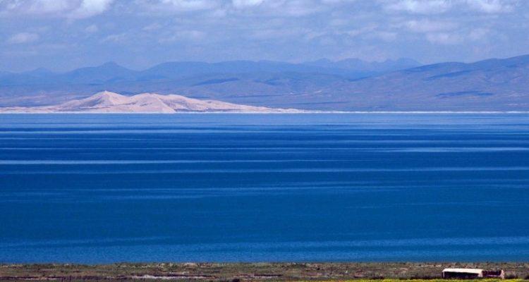 Tibet with Nam-Tsho Lake