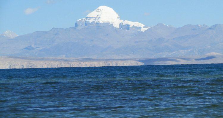 Mt. Kailash and Holy Lake Manasorvar