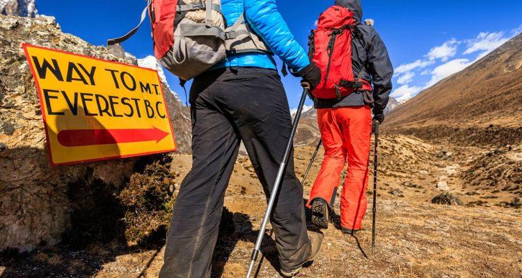 Way to Everest Base Camp Trek