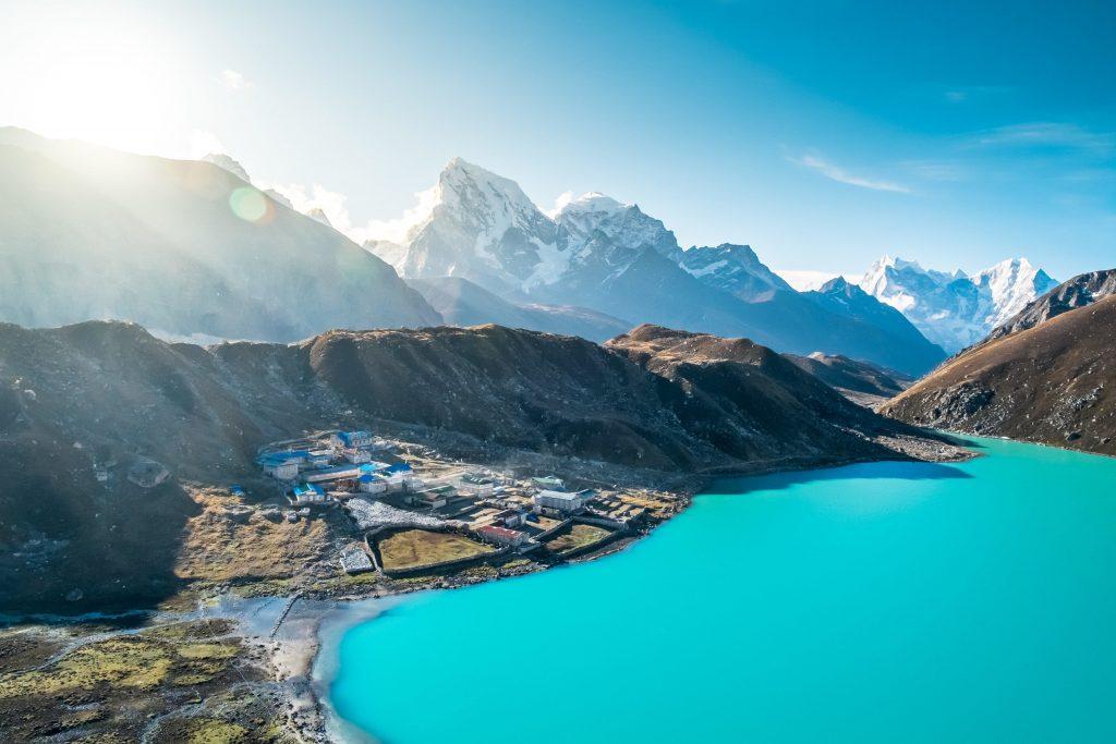 Everest Gokyo Lake Trekking, Gokyo lake