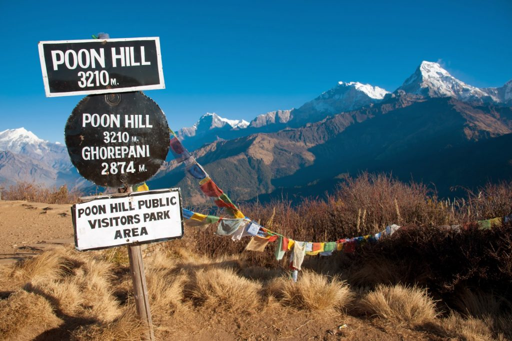 Ghorepani Poon Hill Panorama Trek , Poon Hill Trek